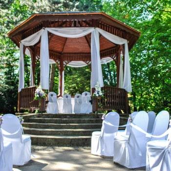 organizacja ślubu w plenerze Gdańsk Park Oliwski