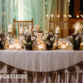 dekoracja stołu weselnego małopolskie