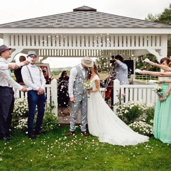 ślub w plenerze dekoracje ślubne