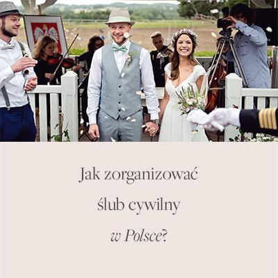 ślub w plenerze Polska