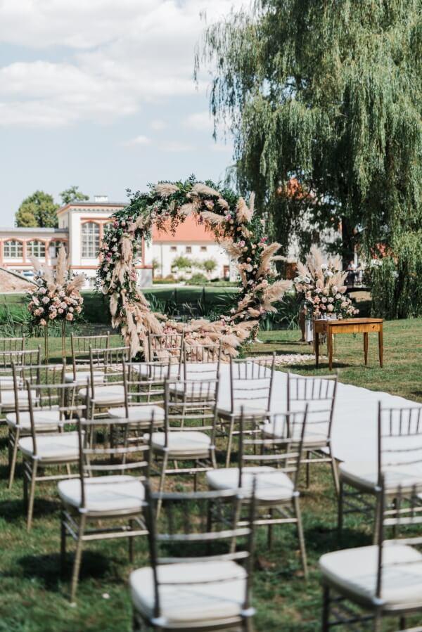 Ślub w plenerze - miejsce